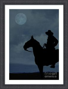 Cowboy Under the Moonlight
