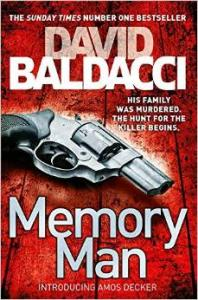 Photographers Work Graces The Cover Of A David Baldacci Bestseller Memory Man
