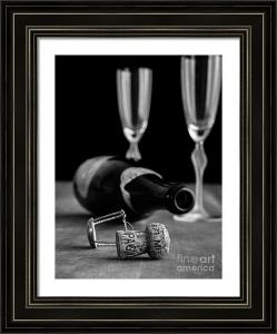 Behind The Photograph Champagne Bottle