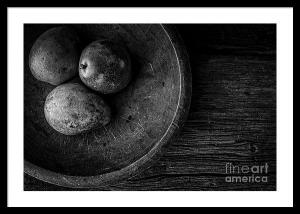 There Is A Lot To See In This Black And White Still Life