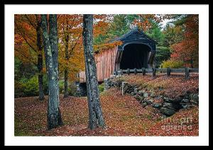 Corbin Covered Bridge Photo Featured In Upper Valley Image Magazine